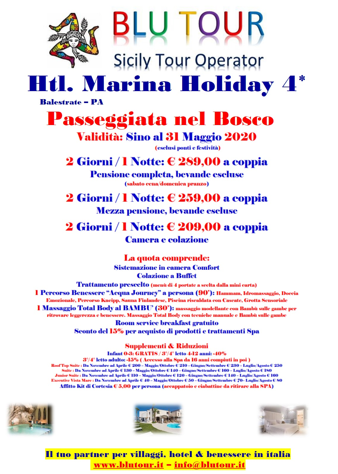 MARINA HOLIDAY BOSCO