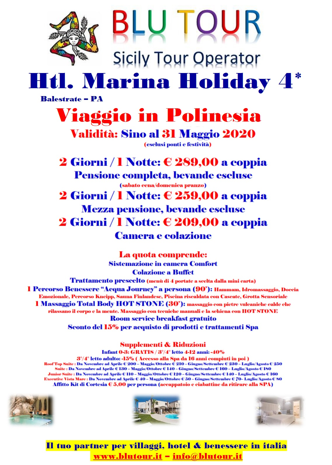 MARINA HOLIDAY POLINESIA