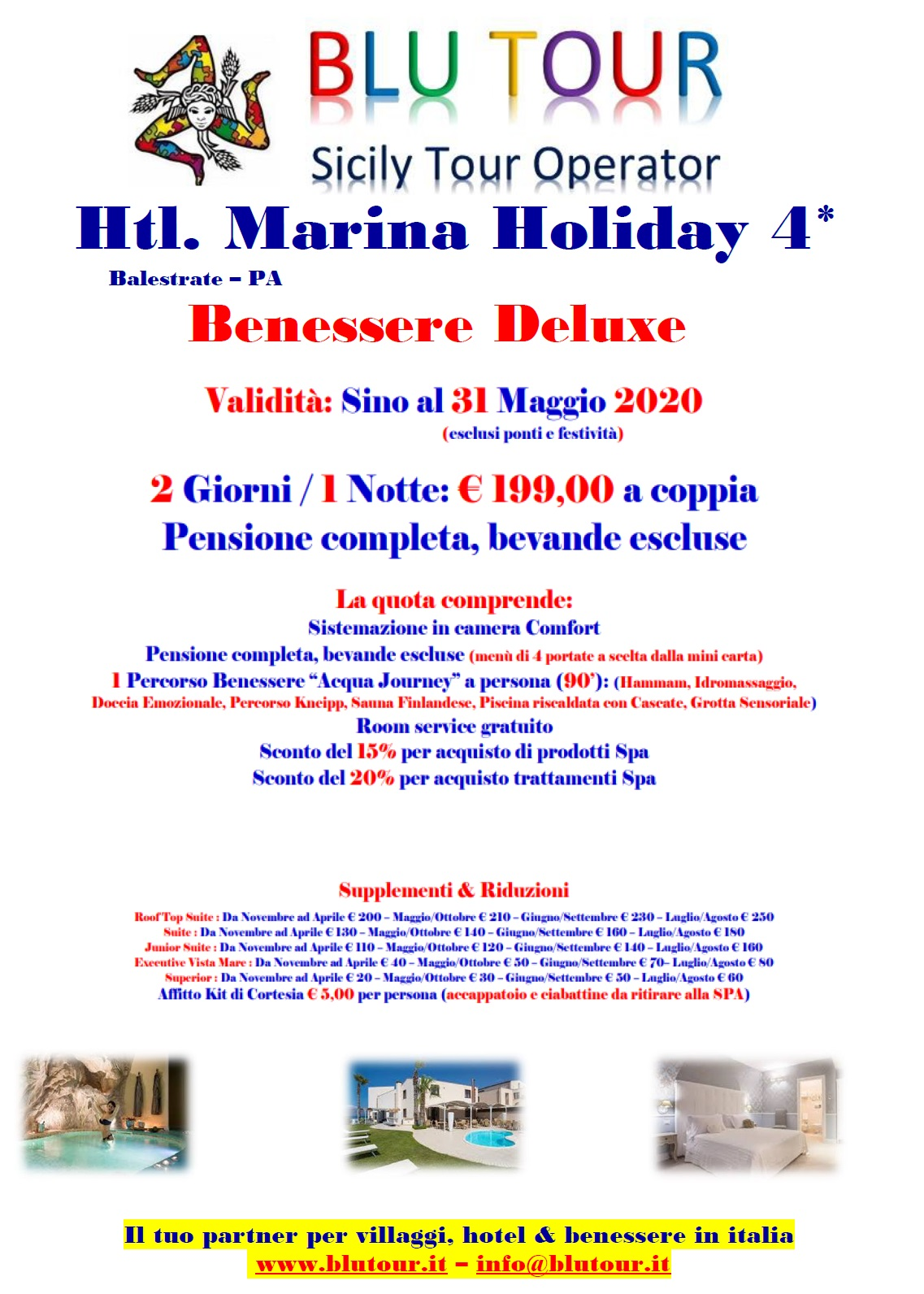 MARINA HOLIDAY  DELUXE