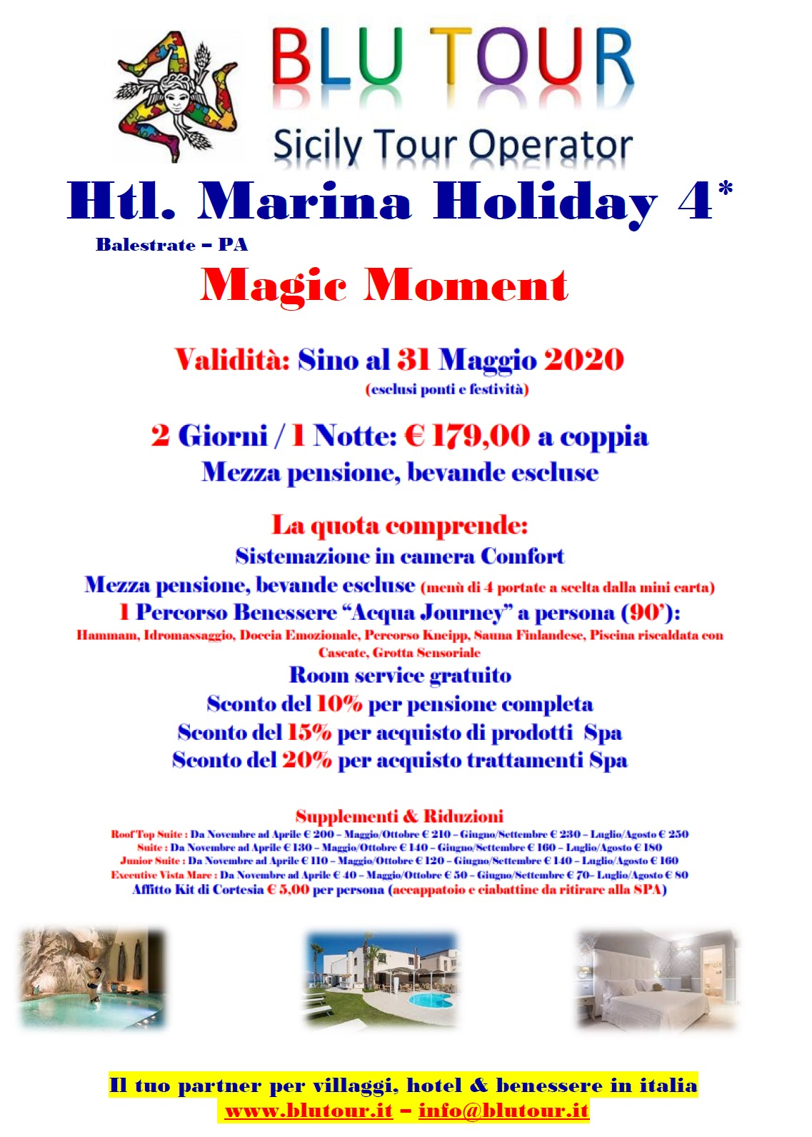 MARINA HOLIDAY  MAGIC