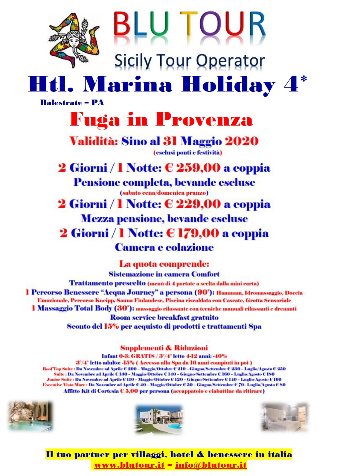 MARINA HOLIDAY  PROVENZA